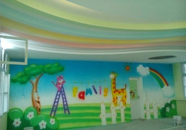 南漳县神州幼教中心室内装饰