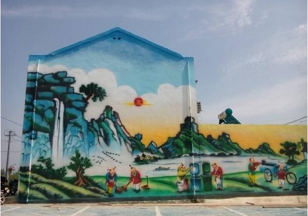 襄阳市襄州区双沟肖庄村墙绘