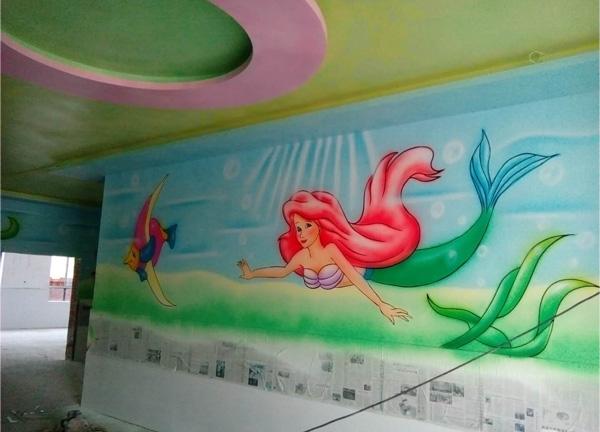 室内装饰-襄阳手绘墙