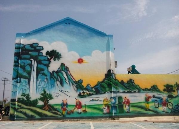 墙体彩绘图2