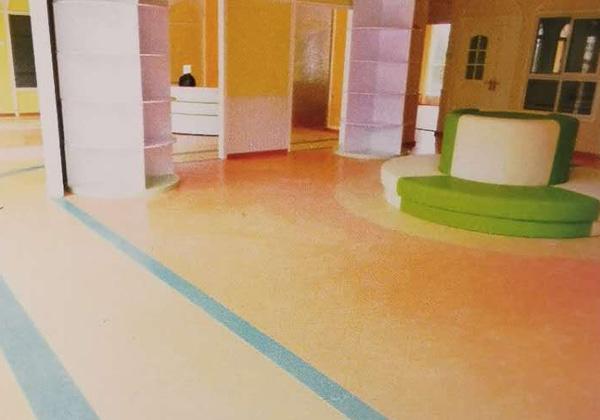 保康县歇马镇幼儿园PVC地板