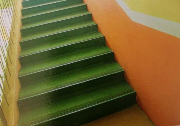 老河口市仙人渡社区幼儿园塑胶踏步