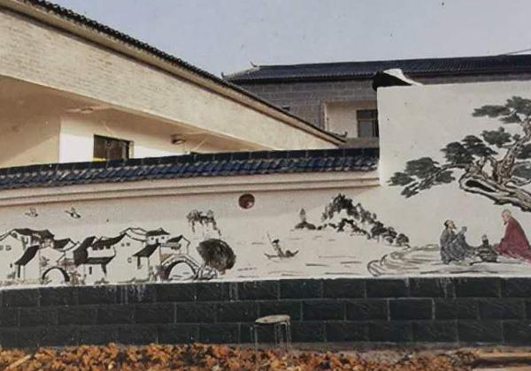 襄阳市襄州区明湾康居人家墙绘