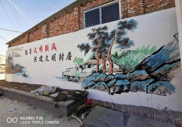 枣阳市七方镇墙绘